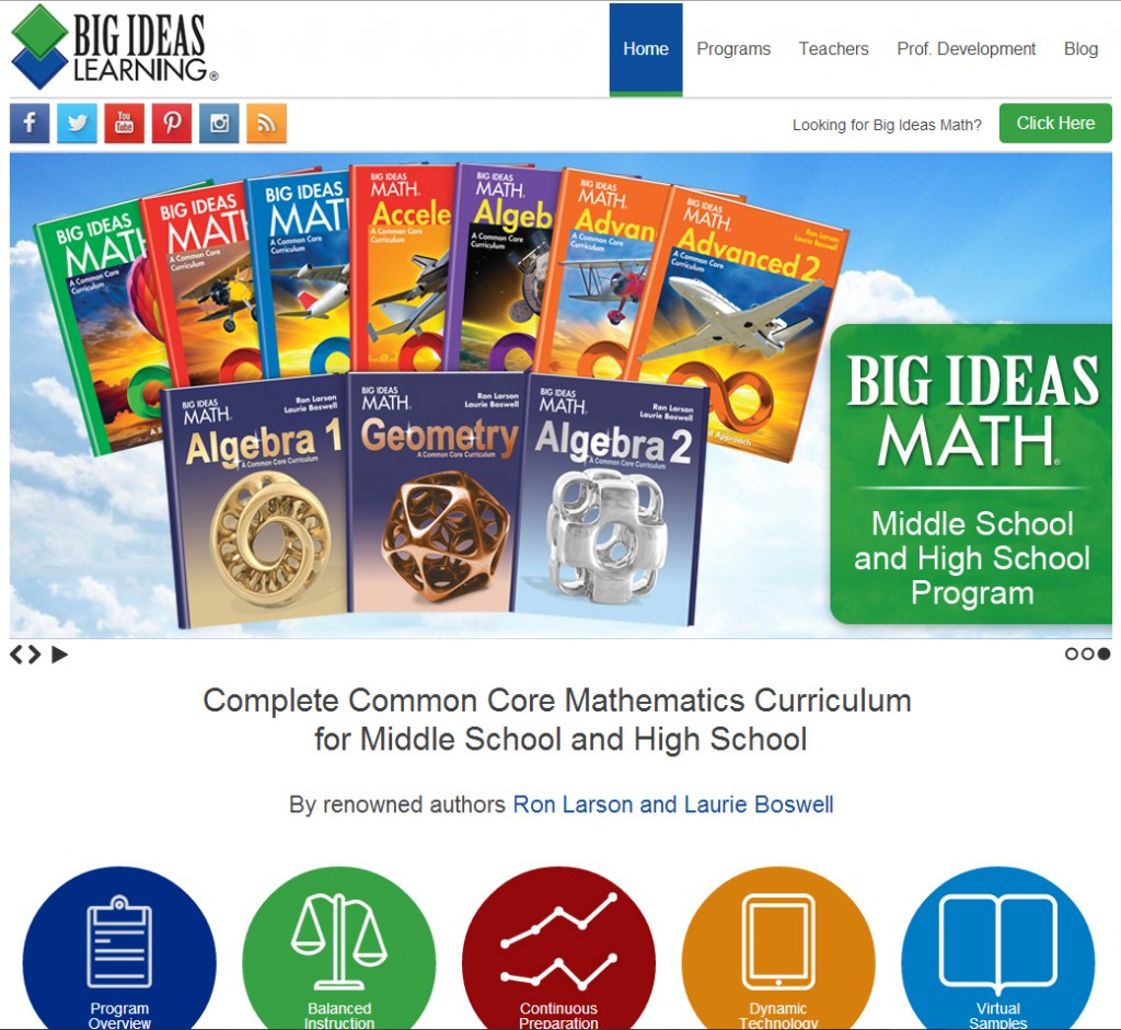 big ideas learning debuts new websites! | big ideas math blog