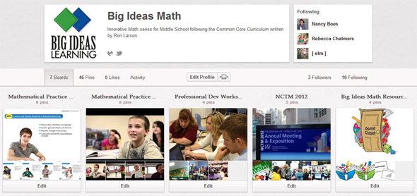 Big Ideas Math on Pinterest