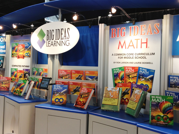Big Ideas Math at NCTM 2013