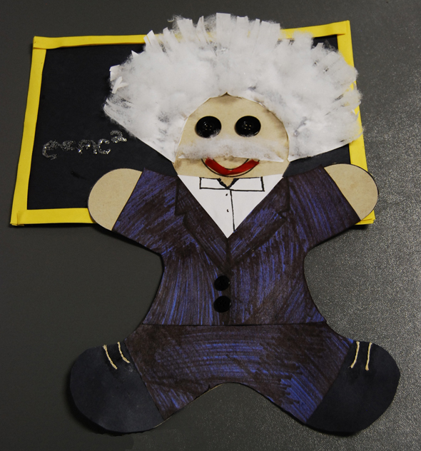 einstein gingerbread