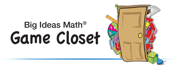 Big Ideas Math Game Closet