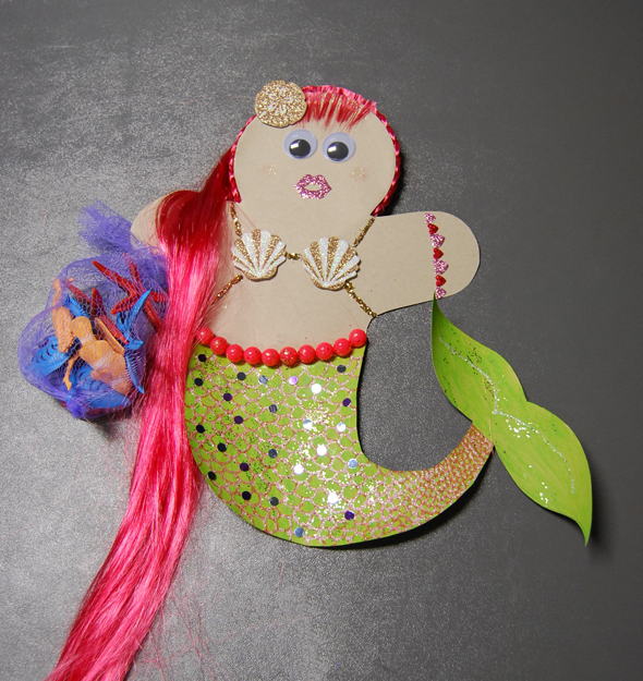 mermaid gingerbread